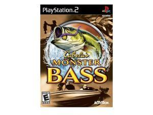 Cabela Monster Bass PlayStation 2 (PS2) Game Activision