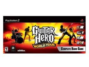 Guitar Hero World Tour (Band Kit) PlayStation 2 (PS2) Game Activision