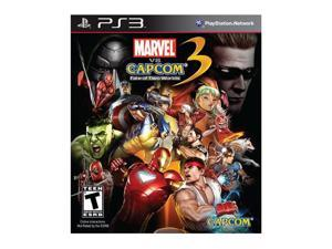 Marvel Vs Capcom 3: Fate of Two Worlds Playstation3 Game CAPCOM