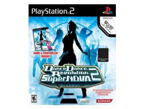 Dance Dance Revolution SuperNOVA2 With Dance Pad Game