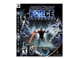 Star Wars: The Force Unleashed Playstation3 Game LUCASARTS
