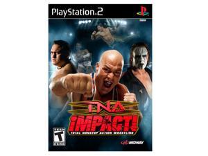 TNA iMPACT! PlayStation 2 (PS2) Game MIDWAY