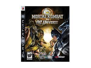 Mortal Kombat Vs DC Universe Playstation3 Game MIDWAY