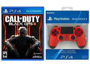 Sony DualShock 4 Wireless Controller & Call of Duty: Black Ops III Bundle - PlayStation 4