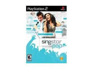 Singstar Pop PlayStation 2 (PS2) Game SONY