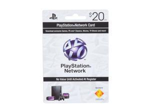 SONY $20 PSN Card
