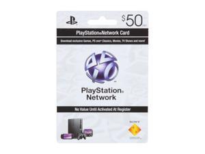 SONY $50 PSN Card