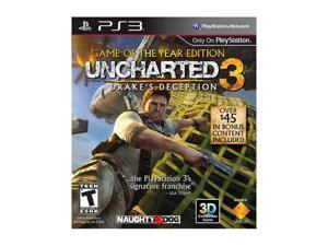 Uncharted 3 Game of the Year Edition Playstation3 Game