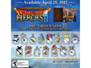 Dragon Quest Heroes 2 - Explorers Edition - PlayStation 4