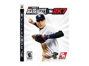 Major League Baseball 2K7 PS3 Video Games 2K SPORTS