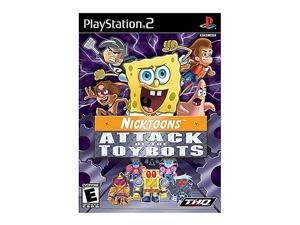 Nicktoons: Attack of the Toybots Playstation 2 Game THQ