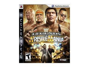 WWE Legends of Wrestlemania Playstation3 Game