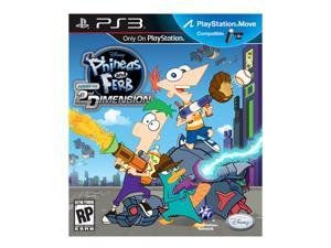 Disney Phineas & Ferb: Across the 2nd Dimension for Sony PS3 Move #zMC