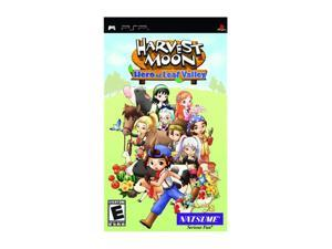 Harvest Moon: Hero of Leaf Valley PSP Game Natsume