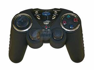 dreamGEAR Freedom Pad 2.4GHz Wireless Controller (without Rumble) In Clamshell Black for PS2