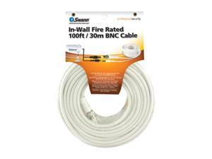 Swann SW332-FC1 In-Wall Fire Rated 100ft / 30m BNC Cable