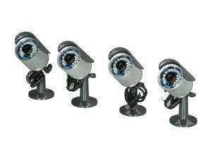 Rosewill RSCM-11001 4-PACK Surveillance Camera Kit