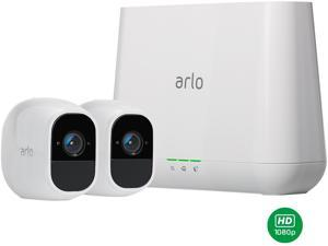 NETGEAR Arlo Pro 2 Security Camera System - 2 Rechargeable Wire-Free HD 1080p Night Vision Indoor / Outdoor Security Camera with Audio and Siren - VMS4230P