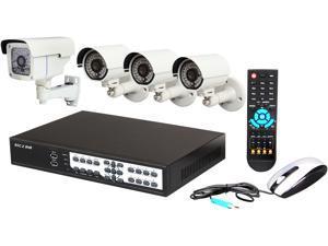 Aposonic A-BR18B4-E 8 Channel 8 Channels Surveillance Bundle Kit