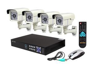 Aposonic A-BR25NB4-R 16 Channel Surveillance DVR Kit