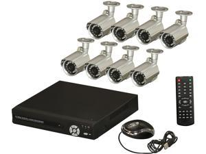 Aposonic A-BRHB8-C 8 Channel Surveillance DVR Kit