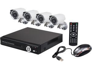 Aposonic A-BRHB4-C 8 Channel Surveillance DVR Kit