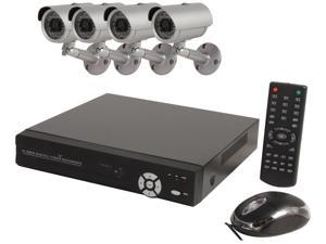 Aposonic A-BRHB4-H 8 Channel Surveillance DVR Kit