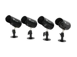 Night Owl CAM-4PK-CM115 4 Pack Indoor / Outdoor Color Wired Cameras with 240ft of Cable