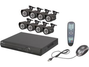 Night Owl ADV1-88500 8 Channel Advanced H.264 DVR, 8  Day&Night Cameras, 500GB HDD, Surveillance DVR Kit