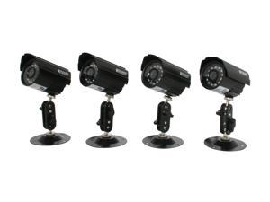 KGuard Camera Kit-H02 Set of 4 Night Vision & Waterproof CCD Camera Kit