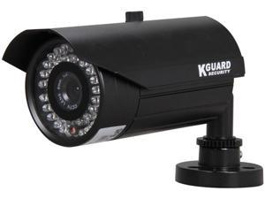 Kguard Anti-Cut Vandal Proof Camera, 540 TVL, 42 IR LED, 131ft IR Distance, 8mm Lens