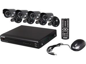 KGuard OT401-H02-500G 4 Channel Surveillance DVR Kit