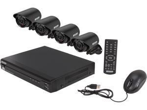 KGuard TC401-4FW426A 4 Channel Surveillance DVR Kit