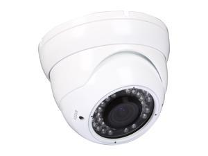LTS LTCD255VMW2 White Metal Dome Camera with 36 IR LED
