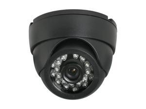 LTS LTCD248FPB2 Black Plastic Dome Camera with 24 IR LED