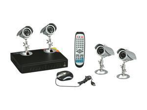 LTS LTD04HTDK 4 Channel Surveillance DVR