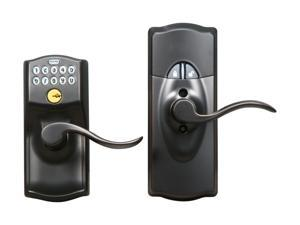 Schlage FE599GR CAM 716 ACC LiNK Starter Kit with Wireless Keypad Lever Aged Bronze