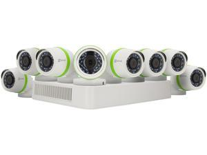 EZVIZ 16 Channel HD 1080p Analog TVI Security System w/ 2TB HDD and 8 Weatherproof 1080p Bullet Cameras, Works with Alexa and Google Home Using IFTTT (BD-2G28B2)