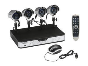 Zmodo PKD-DK4208-500GB 4 Channel CCTV Security Outdoor IR Camera DVR System 500GB