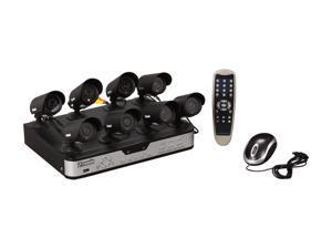 Zmodo PKD-DK0855-500GB 8Ch DVR with 500GB HDD & 8 CMOS IR 480 TVL Cam Kit