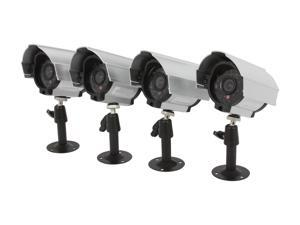 Zmodo PKC-S12316SV BNC 420TVL Day/Night Weatherproof Camera Kit w/ Cables and Power Supply