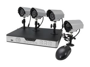 ZMODO PKD-DK0863-NHD 8 CH CCTV Surveillance DVR Outdoor Camera System (HD Sold Separately)