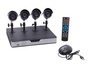 Zmodo KDS8-NARQZ4ZN 8 Channel H.264 Level Surveillance DVR Kit