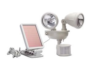 Maxsa 40218 Motion-Activated Dual Head LED Security Spotlight