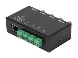 Vonnic A2805 4 x BNC to RJ45 Video Converter (Metal)