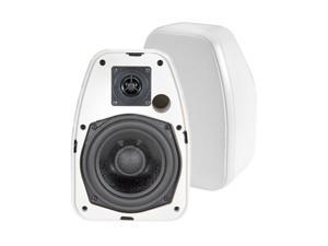 "BIC America Adatto DV52si 5.25"" Indoor/Outdoor Speakers, Pair, White"