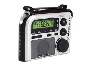 MIDLAND ER-102 Emergency Crank Radio with AM/FM and Weather Alert