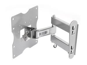 "Rosewill RMS-MA3210 - Silver 17.00"" - 32.00"" Tilt & Swivel Wall Mount"