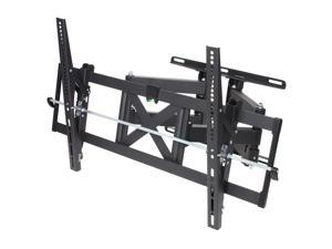 "Rosewill RHTB-11005 Articulating 37"" to 65"" Full Motion Dual Arm TV Bracket Mount, Max. Load : 165 lbs , Max VESA 800 x 500mm"