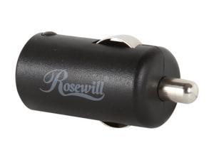 Rosewill Black 1A USB Micro Car Charger RCP-SC41